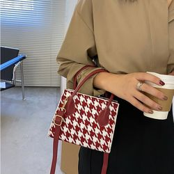 romansera 스왈로우 패턴 컬러조이 미니백 3color