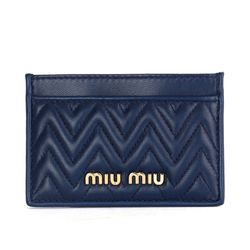 5MC208 나파 여성 카드지갑 블루