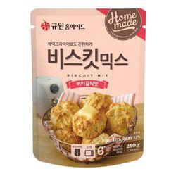큐원 비스킷 믹스 버터갈릭 맛 (오븐에어후라이기)