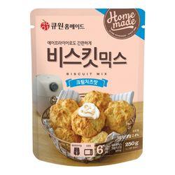 큐원 비스킷 믹스 크림치즈맛 (오븐에어후라이기)