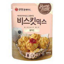 큐원 비스킷 믹스 플레인 (오븐에어후라이기)