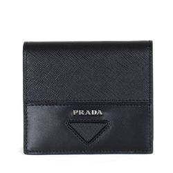 2MO004 사피아노 비텔로 카드 반지갑 블랙