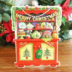 크리스마스 기프트태그(오너먼트) 6장세트