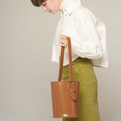 엘노이 Mullion Bag Camel