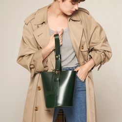 엘노이 Mullion Bag Green
