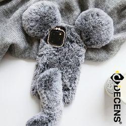 데켄스 M669 아이폰 쥐 윈터 퍼 케이스