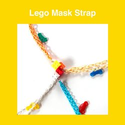 레고 마스크 스트랩 (4 colors)