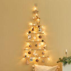 크리스마스 벽트리 풀세트 허니모카 M