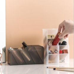 키밍 데스크 꽂이 펜 화장품 미니 수납함 오거나이저