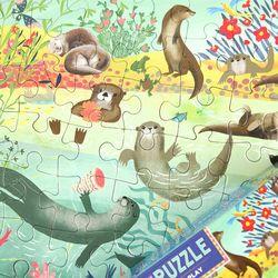 귀여운 수달 64피스 퍼즐  5세이상