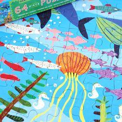 바다 보물 64피스 퍼즐  5세이상