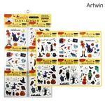 500 할로윈 마꾸 타투 스티커 (1판-60EA)