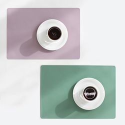 파스텔 실리콘 직사각테이블매트-5color