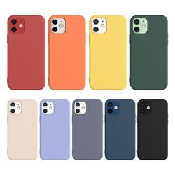 애드온 아이폰 1212프로 베이직 실리콘 케이스