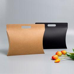 스카프 포장 상자- box H 반달케이스 한개