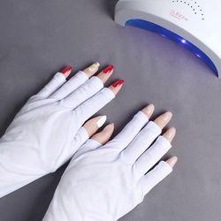UV 자외선 차단 네일장갑 손 보호 장갑
