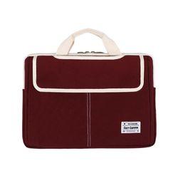 3웨이 노트북가방 13-14인치 버건디(풀옵션)
