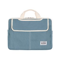3웨이 노트북가방 13-14인치 블루그레이(풀옵션)