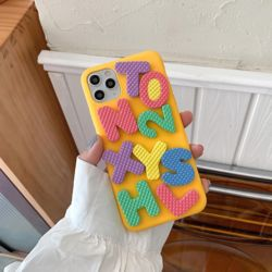 아이폰11PRO MAX XR XS SE2 8 알파벳 블록 퍼즐 케이