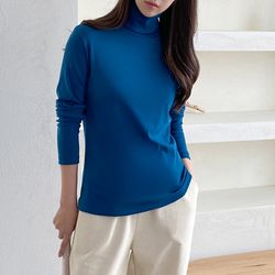 Warm Turtleneck Tee
