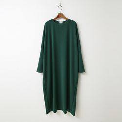Easy Cotton Boxy Long Dress