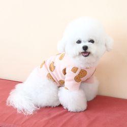 데일리 베베 티셔츠 - 사자(핑크)