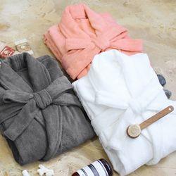 소프트터치 프리미엄 호텔 목욕가운 샤워가운 커플잠옷