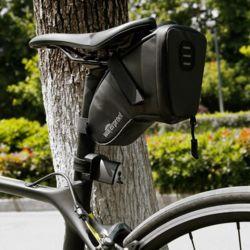 키밍 자전거 새들백 생활방수 빛반사 바이크가방