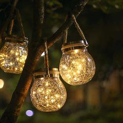 LED 태양광 드리밍 정원등 (무드등)