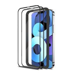 아이폰12 3D풀커버 9H 휴대폰액정강화유리 (2매)