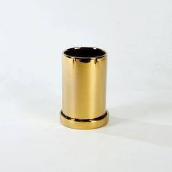 원형라운드화분 H15cm 골드