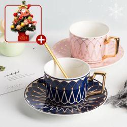 로하티 선물용 커피잔 티포트 세트