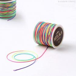 레인보우매듭끈마스크줄재료꾸미기만들기미술