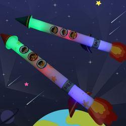 우주로켓만들기(4개)우주와환경꾸미기재료불및막대