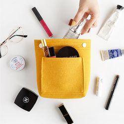 인바이트엘 Compact felt bag in bag