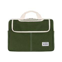 3웨이 노트북가방 15.6-17인치 카키(풀옵션)