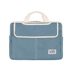 3웨이 노트북가방 15.6-17인치 블루그레이(풀옵션)