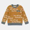 레터링 스웨터 CKKA18T2B