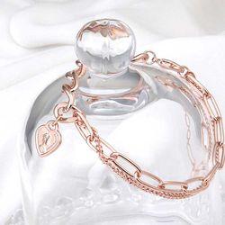 Mujer daily 로티 bracelet 14KGP rose gold