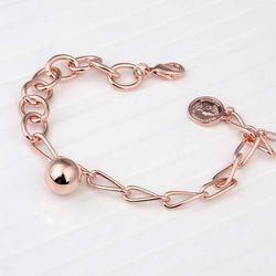 Mujer daily 비비안 bracelet 14KGP rose gold