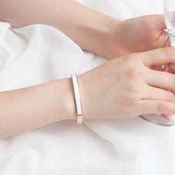 Mujer daily 로얄뱅글  bracelet 14KGP rose gold