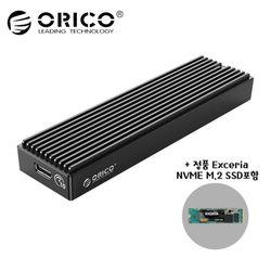 오리코본사 M2PV-C3 NVMe M.2케이스+SSD 1TB 포함