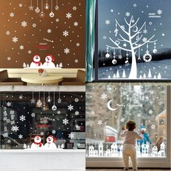 환타 크리스마스 스티커 눈꽃 스티커 카페 데코(3종)