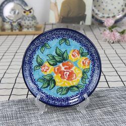 폴란드그릇 아티스티나 원형 접시 16cm 유니캇u1481