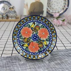 폴란드그릇 아티스티나 원형 접시 16cm 유니캇u2617