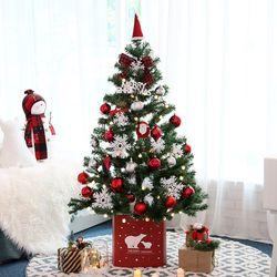 크리스마스트리 중대형트리 퍼블릭레드 1.6M 풀세트