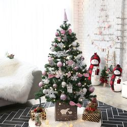 크리스마스트리 중대형트리 레베카핑크 1.6M 풀세트