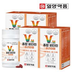 일양약품 종합 멀티 비타민 미네랄 프리미엄 4병 (240정)