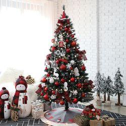 크리스마스트리 고급트리 대형트리 에리카레드 1.9M 풀세트
