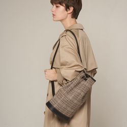 엘노이 Unii Bag Brown Check